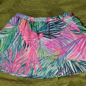 Girls Large Lilly pulitzer scooter skirt